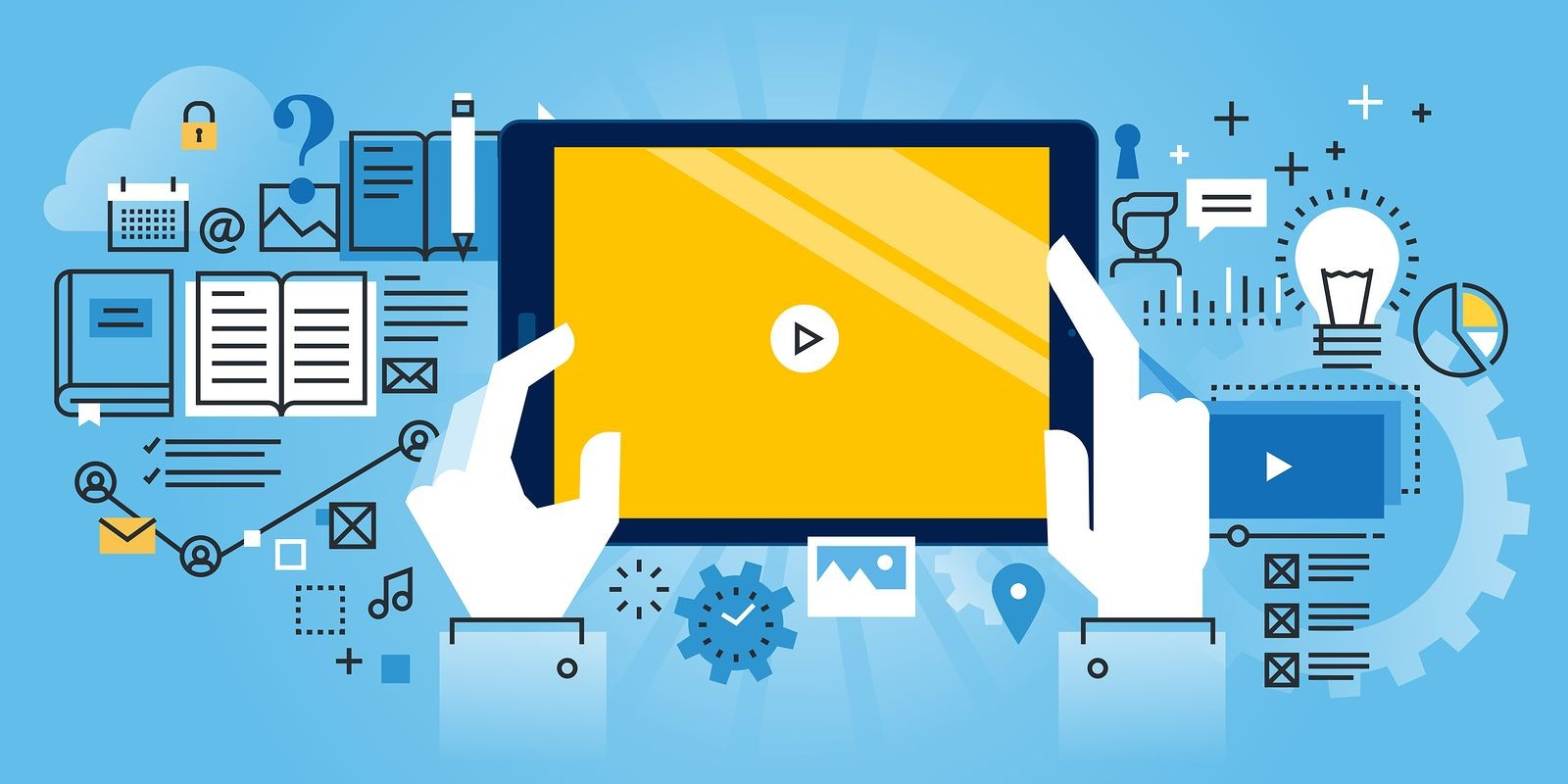 A Business Owner Considers Using Video Background for his Website